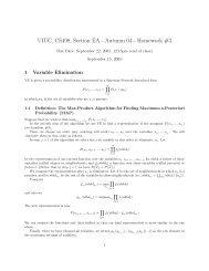 UIUC, CS498, Section EA - Autumn 04 - Homework #3
