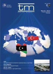 tm Dergi 28.Sayı - Türk Müşavir Mühendisler ve Mimarlar Birliği