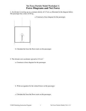 Worksheet 4: Conservation of Momentum II - Modeling Physics