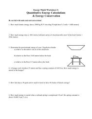 Worksheet 1b: Quantitative Photoelectric Effect - Modeling Physics