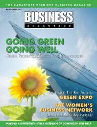 GOING GREEN GOING WELL - Admax Marketing