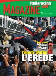 Trionfo Vettel - Italiaracing