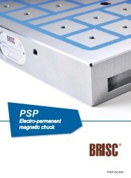PSP Electro-permanent magnetic chuck
