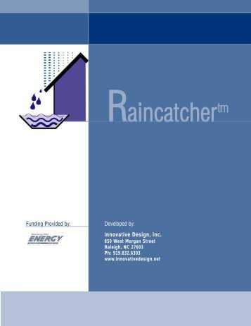Rainwater Manual 8511.qxp - Innovative Design