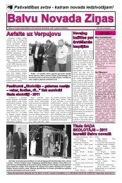 Balvu Novada Ziņas Nr.20. - Balvi