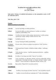 2013.gada 14. jūnija sēdes protokls - Labklājības ministrija