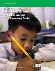 Effective Literacy and English Language Instruction for ... - p-12
