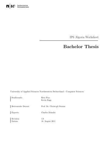 anmeldung master thesis fh kiel