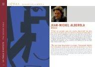 Détails - Jean-Michel Alberola - Bernardaud