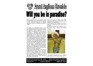 Ararat Anglican Chronicle 16 February 09 - Anglican Parish of Ararat