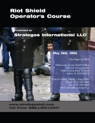 Download the Flyer - Strategos International