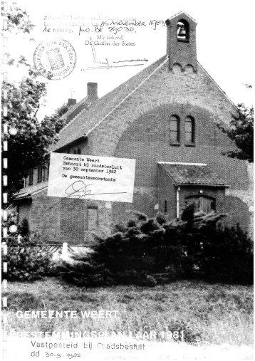 raadsbesluit 982 aria Wèert ptember I - Gemeente Weert