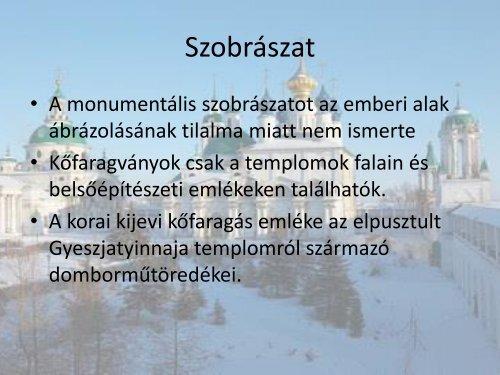 Kígyósi Sarolta - Orosz művészet (PDF)