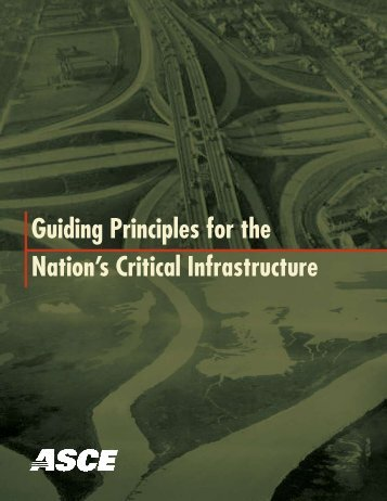 Guiding Principles for the Nation's Critical Infrastructure - Convey