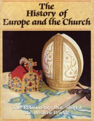History of Europe and the Church - Church of God - NEO