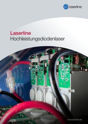 Laserline Hochleistungsdiodenlaser 16 Seiten, 1,2 MB