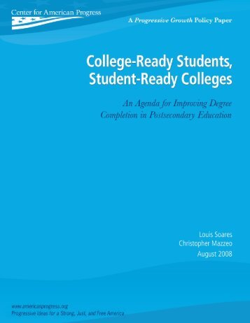 College-ready student strategies - Ensuring Access and Equity