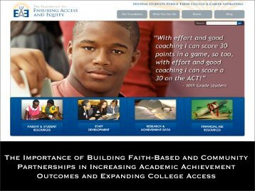 Download Faith-based PowerPoint Slides - Ensuring Access and ...