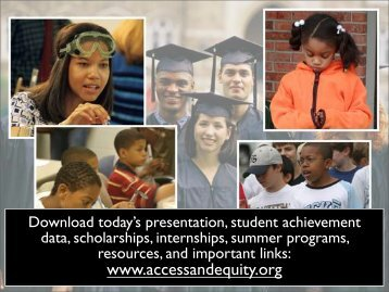 Texas College - Ensuring Access and Equity