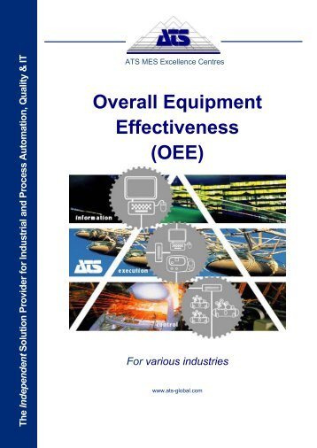 overall equipment effectiveness thesis Implementation of a system for monitoring overall equipment effectiveness (oee) and exploring correlation between oee and process capability (master's thesis.