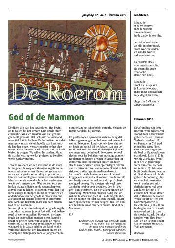 aflevering 6, februari 2013 - De Roerom