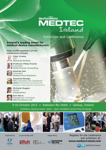 PDF brochure - MEDTEC Ireland