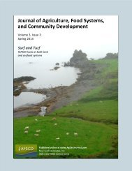 volume 3, issue 3 (Spring 2013) - Journal of Agriculture, Food ...