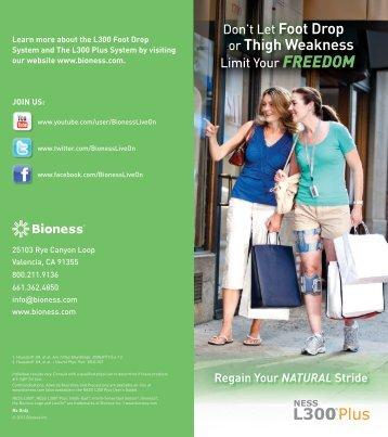 Product Brochure - Bioness Inc.