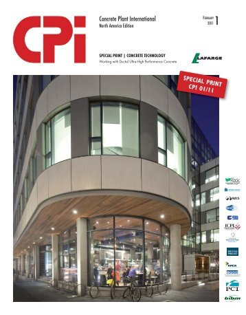 CPI - February 2011 - Working with Ductal® UHPC