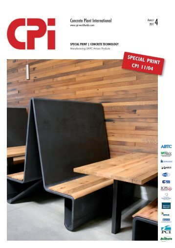 CPI - August 2011 - Manufacturing UHPC artisan products - Ductal
