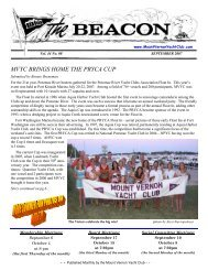 September 2007 - Mount Vernon Yacht Club