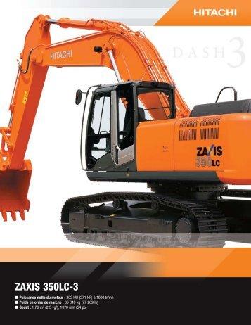 ZAXIS 350LC-3 - Hitachi