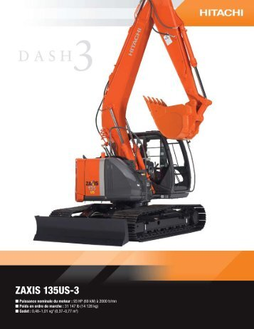 ZAXIS 135US-3 - Hitachi