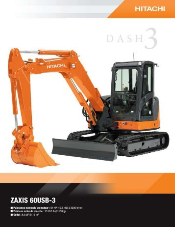 ZAXIS 60USB-3 - Hitachi