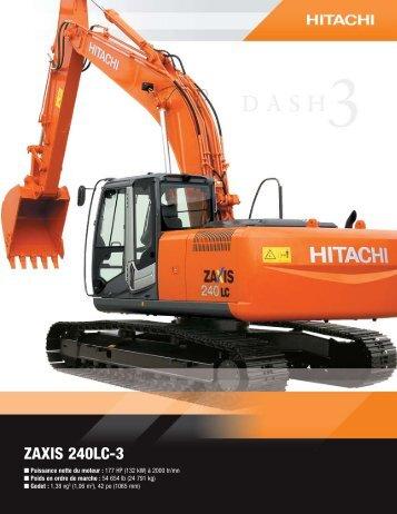 ZAXIS 240LC-3 - Hitachi