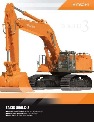 ZAXIS 850LC-3 - Hitachi
