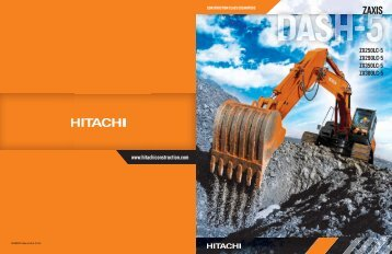ZX380LC-5 Features and Benefits Brochure - Hitachi