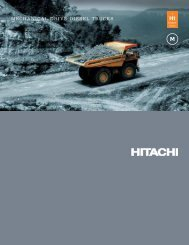 Features and Benefits Brochure - Hitachi