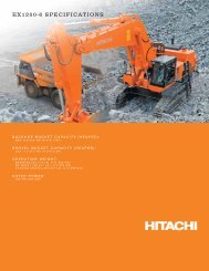 EX1200-6 SPECIFICATIONS - Hitachi