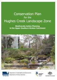 Conservation Plan Hughes Creek Landscape Zone - Strathbogie ...