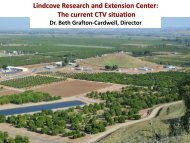 Lindcove Research and Extension Center - Citrus Research Board