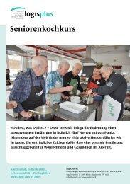 Seniorenkochkurse - logisplus AG