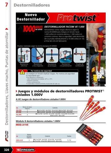 Descargar catálogo en PDF de *Destornillador aislado - Pegamo