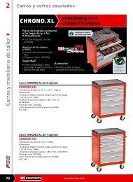 Descargar catálogo en PDF de *Carros Chrono - Pegamo