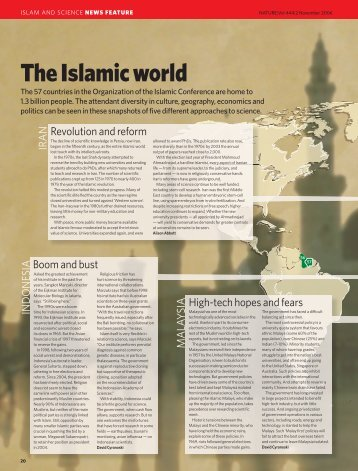 Islamic world - CGISS