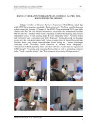 Report of Raith Lithography Workshop