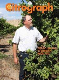 Citrograph May-June 2010 - Citrus Research Board