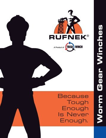 RUFNEK Worm Gear Catalog - TWG