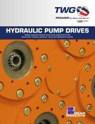 Hydraulic Pump Drives Catalog - TWG