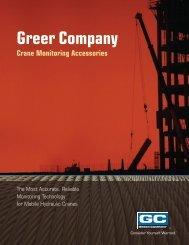 Crane Monitoring Accessories Catalog - TWG